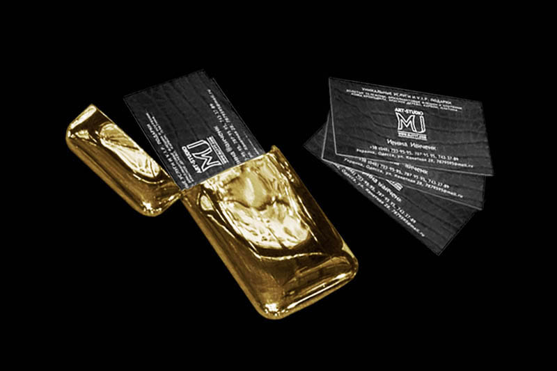 Platinum gold vip cards with genuine leather card holders exclusive business card holder made of solid gold 750 th sample business cards are made of genuine leather and embossed prints colourmoves Images
